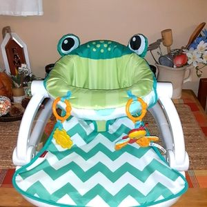 Fisher Price baby frog seat